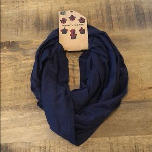 LAST ONE Fall Navy Blue Infinity Scarf
